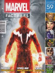 Marvel Fact Files #59 Eaglemoss Publications
